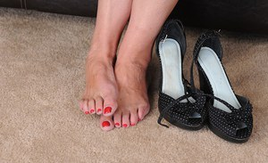 Granny feet pictures
