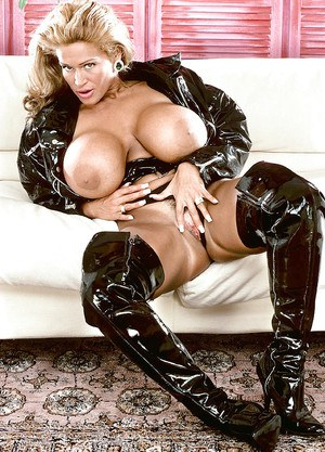 Hot milf in latex and stockings in superb sex 5
