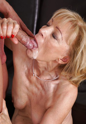 Grandma Cum In Mouth