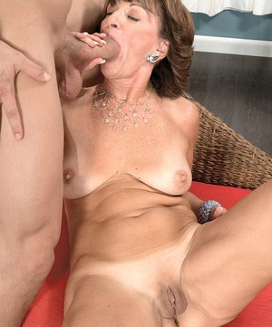 Cock Mature big women and